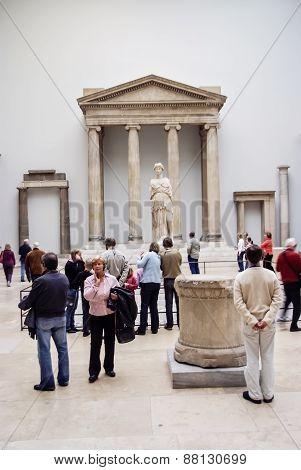 Pergamon Museum In Berlin, Germany
