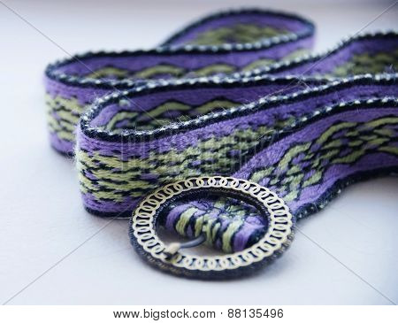 Handwoven belting