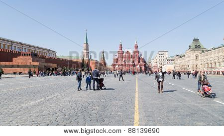 Many People On Red Square