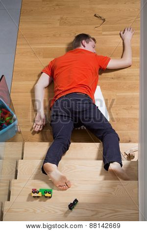 Unconscious Man