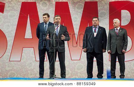 Rinat Layshev, Head Director Of Sambo-70