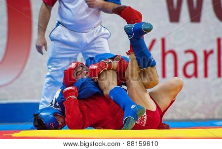 Kanzhanov B. (red) And  Umbayev N. (blue) Fights