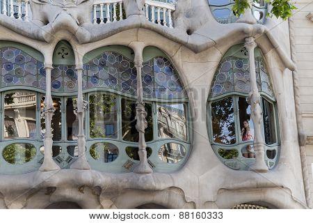 Casa Batllo In Barcelona