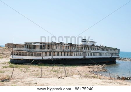 Old Ruined Ship