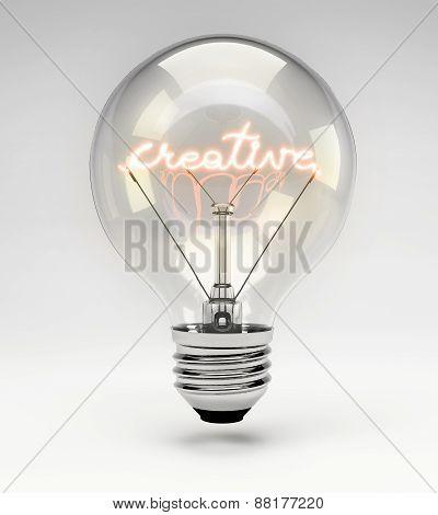 Concept Light Bulb - Creative