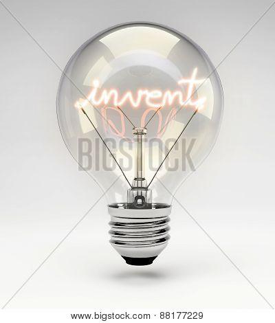 Concept Light Bulb - Invent