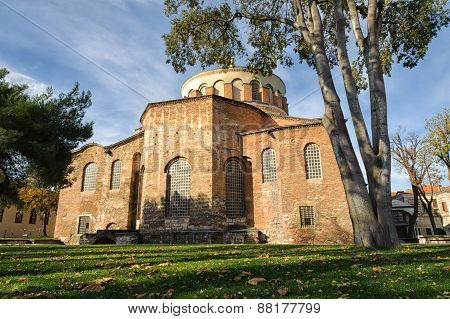 Former Eastern Orthodox church in Topkapi palace complex Istanbul Turkey poster