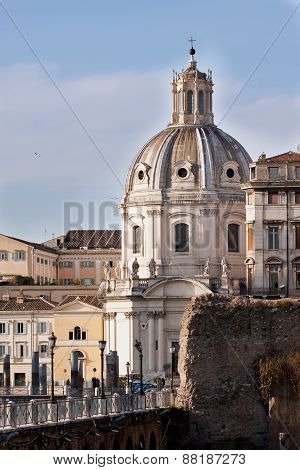 Catholic Church Ss Nome Di Maria - Rome (italy)