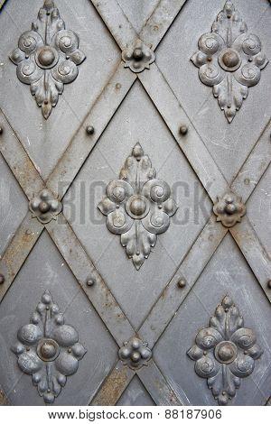 Old Vintage Metal Door