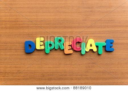 Depreciate