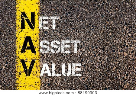 Business Acronym Nav - Net Asset Value