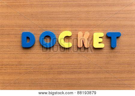 Docket