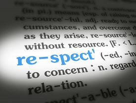 Dictionary Respect