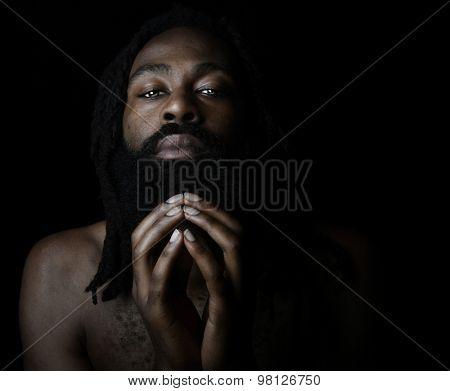 Nice Image of a Very Spiritual man
