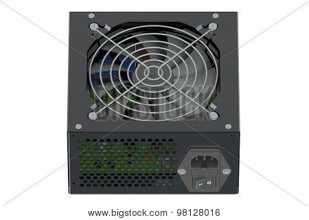 Black Power Supply Unit
