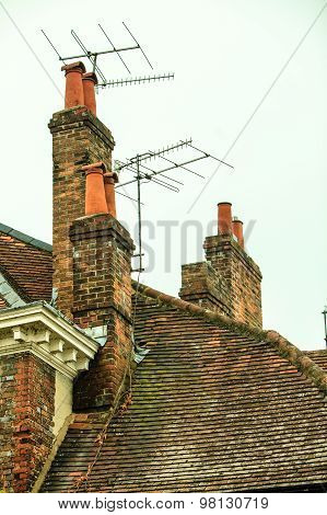 Rooftops And Chimneys