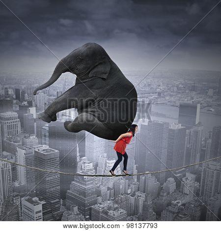 High Risk Job Concept