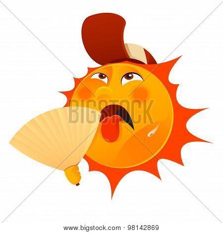 Thristy sun