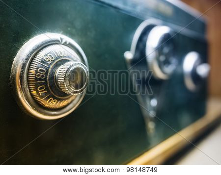 Safe Lock Code On Safety Box Bank