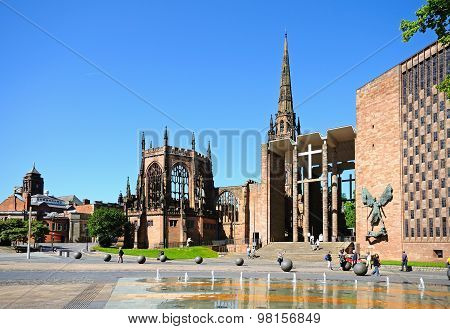 Coventry Cathedrals.