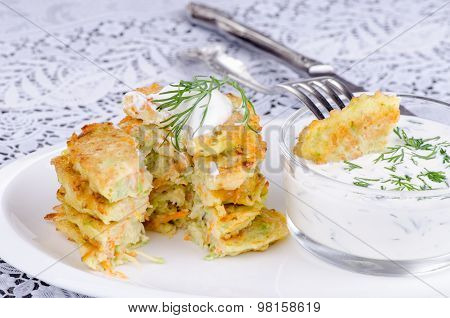 Stack Of Pancakes Vegetable