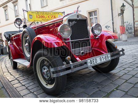 Sightseeing Car In Prague