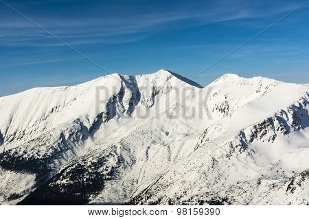 Peak - Baraniec, Baraniec Wielki, Baranec, Velky Vrch)
