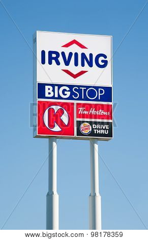 Irving Bigstop Sign