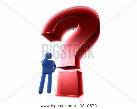 Thinking Time - Question Mark