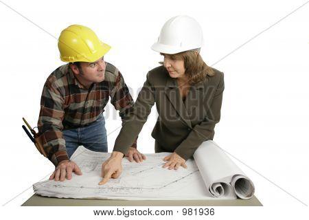 Going Over Blueprints Together