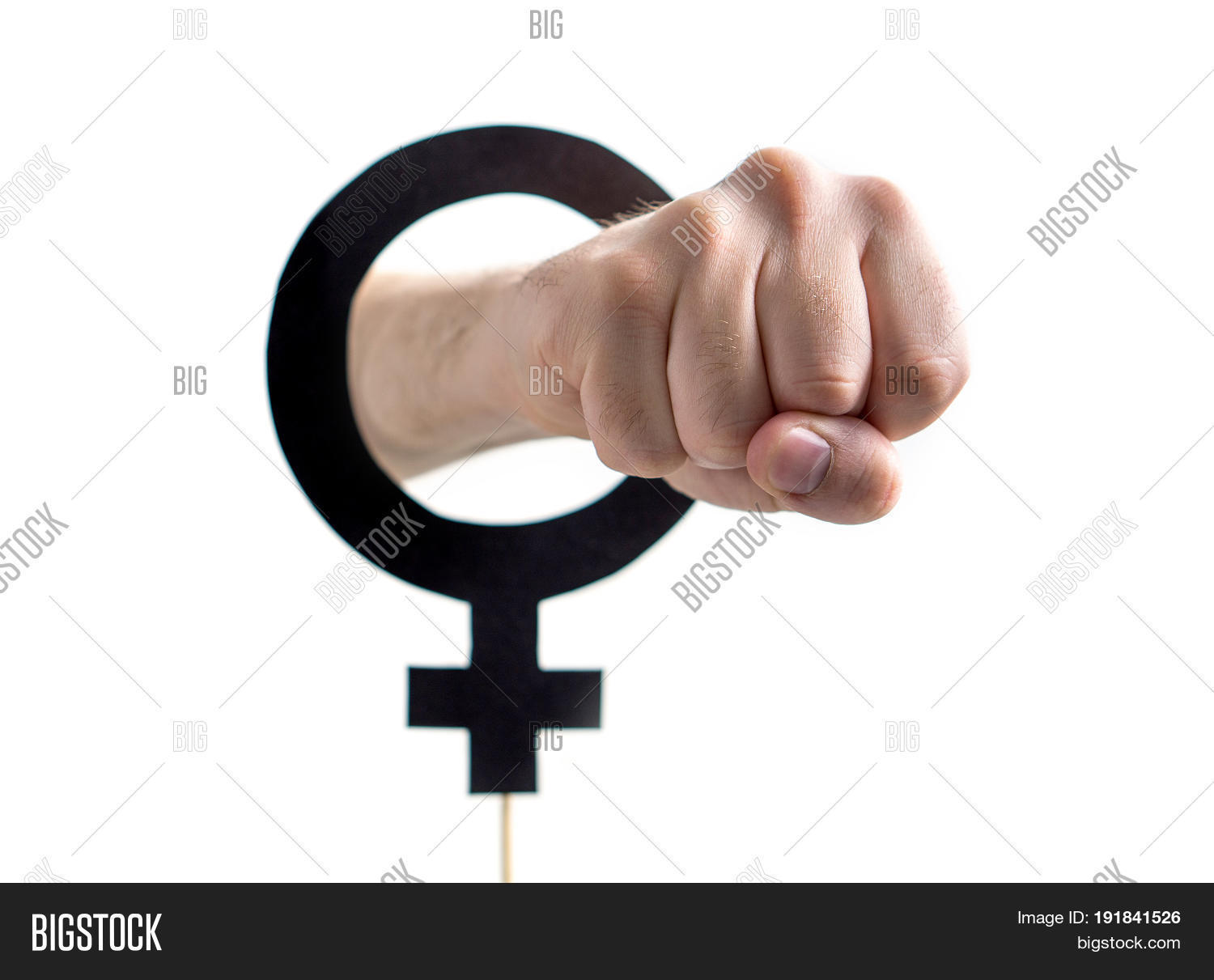 Male Chauvinism Image Photo Free Trial Bigstock
