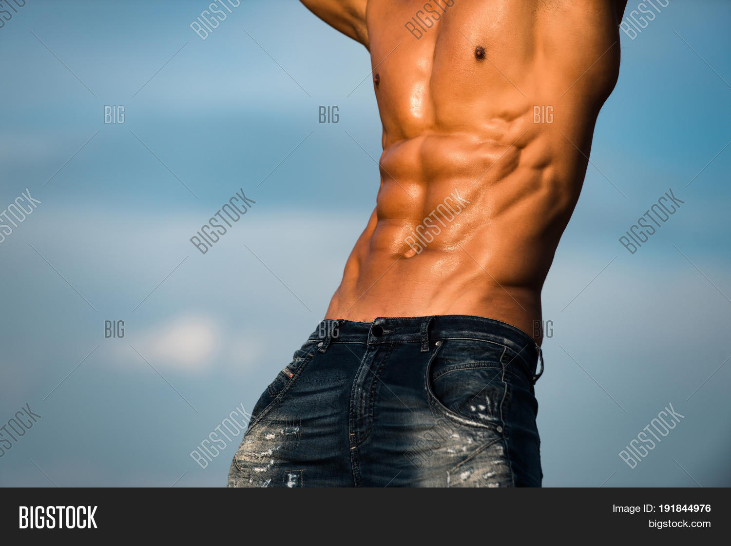 Muscular Torso Athlete Image Photo Free Trial Bigstock