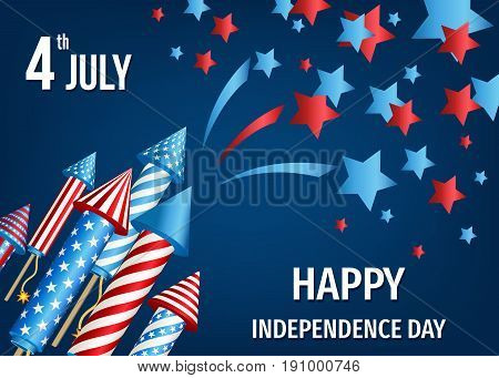 4Th Of July,  Usa    Independence  Day Background.