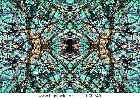 Beautiful abstract background green with black pattern