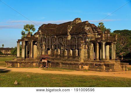 Temple Ankor Wat in Siem Reap, cambodia