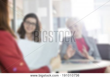 Blurred Business Background Concept