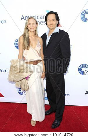 LOS ANGELES - JUN 10: Lauren Brim, Charles Rahi Chun at the 2017 Stand For Kids Annual Gala Benefiting Orthopedic Institute For Children at The MacArthur on June 10, 2017 in Los Angeles, California