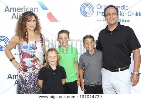 LOS ANGELES - JUN 10: Erin Rusler, sons Charlie, James, Johnny, Robert Rusler at the 2017 Stand For Kids Annual Gala at The MacArthur on June 10, 2017 in Los Angeles, California