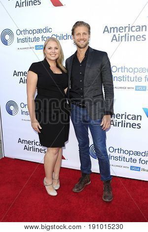 LOS ANGELES - JUN 10: Sarah Pierce, Matt Barr at the 2017 Stand For Kids Annual Gala Benefiting Orthopedic Institute For Children at The MacArthur on June 10, 2017 in Los Angeles, California