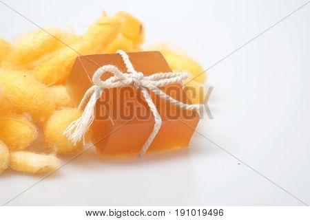 Glycerin Silkworm Cocoon And Honey Soaps