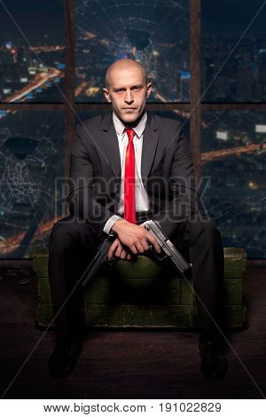 Contract killer wallpaper, background or poster