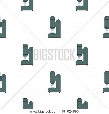 Blacksmith automatic hammer pattern seamless flat style for web vector illustration