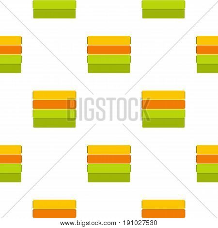 Colorful wallpapers pattern seamless flat style for web vector illustration