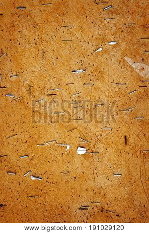 Bork bulleting board pins and staples