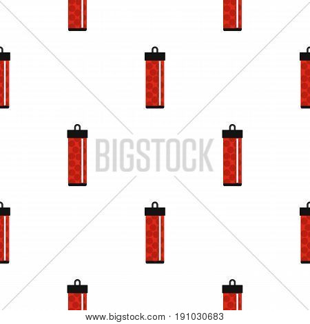 Red pack with paintball bullets pattern seamless flat style for web vector illustration