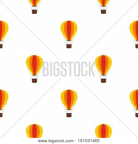 Baloon pattern seamless flat style for web vector illustration
