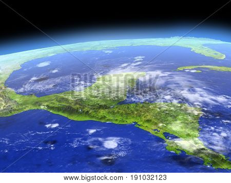 Yucatan From Space