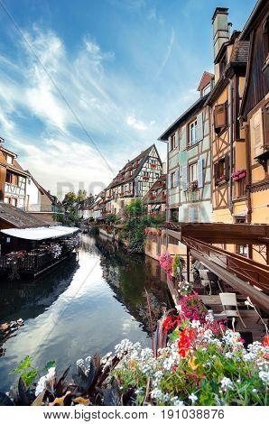 Little Venice In Colmar, Alsace, France