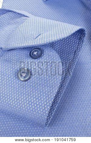 still life man blue shirts cuff fashion clothing