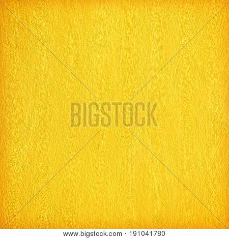 yellow texture wall background;  yellow paint cement wall